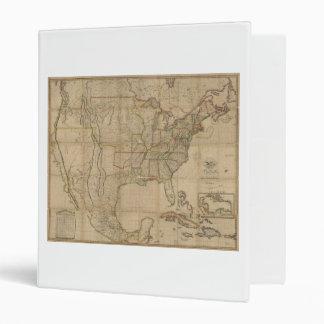 """Mapa de los Estados Unidos de América (1823) Carpeta 1"""""""