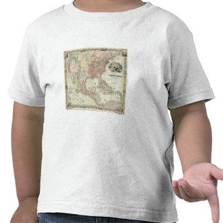 Mapa de los Estados Unidos de América Camiseta