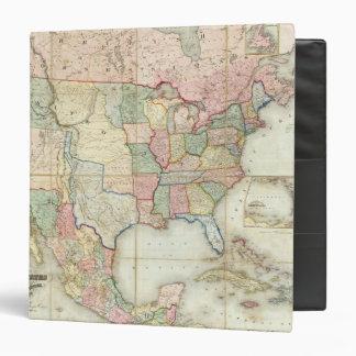 """Mapa de los Estados Unidos de América Carpeta 1 1/2"""""""