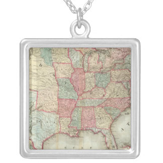 Mapa de los Estados Unidos de América Collar