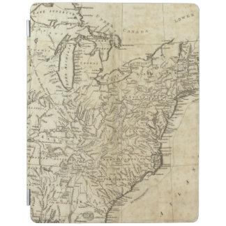Mapa de los Estados Unidos de América Cubierta De iPad