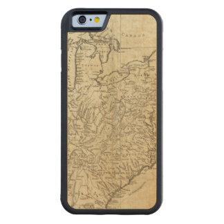 Mapa de los Estados Unidos de América Funda De iPhone 6 Bumper Arce