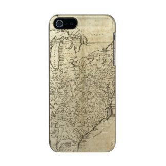 Mapa de los Estados Unidos de América Carcasa De Iphone 5 Incipio Feather Shine
