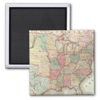 Mapa de los Estados Unidos de América Iman De Nevera