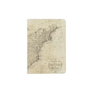 Mapa de los Estados Unidos de América Porta Pasaporte