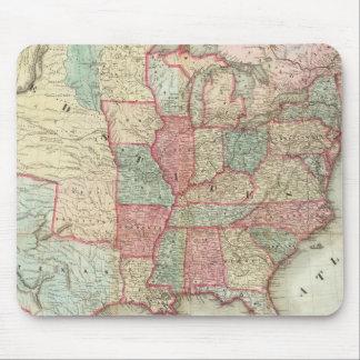Mapa de los Estados Unidos de América Tapetes De Raton
