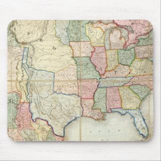 Mapa de los Estados Unidos de América Tapete De Ratón