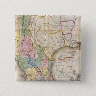 Mapa de los Estados Unidos De Mejico Button