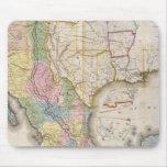 Mapa de los Estados Unidos De Mejico Tapetes De Ratón