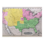Mapa de los Estados Unidos Postales
