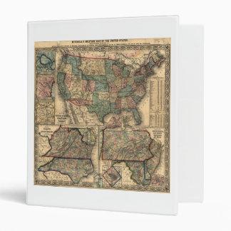 """Mapa de los Estados Unidos y de los territorios Carpeta 1"""""""