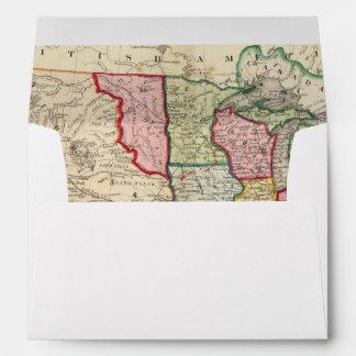 Mapa de los Estados Unidos y de los territorios