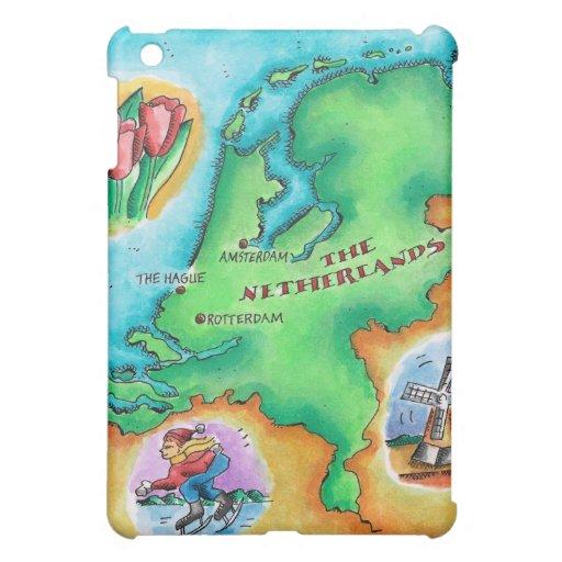 Mapa de los Países Bajos