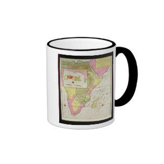 Mapa de los países de África Taza De Café