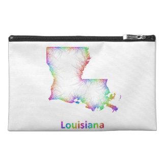 Mapa de Luisiana del arco iris