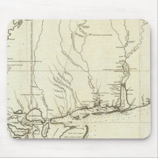 Mapa de Luisiana Tapete De Ratón