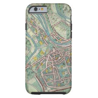 Mapa de Luxemburgo, de 'Civitates Orbis Terrarum Funda De iPhone 6 Tough