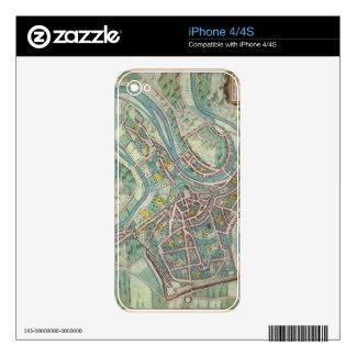 Mapa de Luxemburgo, de 'Civitates Orbis Terrarum Skin Para El iPhone 4