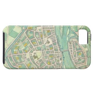 Mapa de Maastricht, de 'Civitates Orbis Terrarum iPhone 5 Fundas