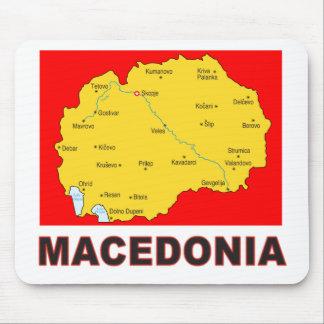 Mapa de Macedonia Alfombrillas De Raton