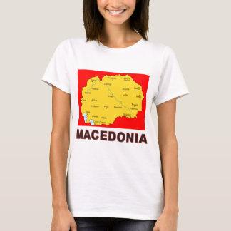 Mapa de Macedonia Playera