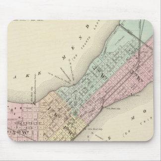 Mapa de Madison, Wisconsin Alfombrilla De Raton