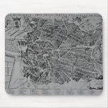 Mapa de Madrid Alfombrillas De Ratón