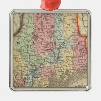 Mapa de Maine de Mitchell Ornamente De Reyes