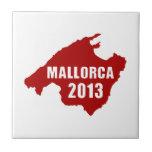 Mapa de Mallorca 2013 Azulejo