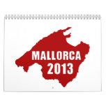 Mapa de Mallorca 2013 Calendarios