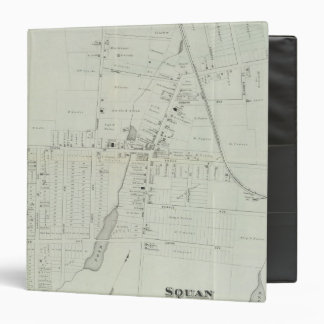 "Mapa de Manasquan, New Jersey Carpeta 1 1/2"""