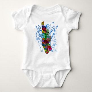 Mapa de Manhattan del codificado por color Body Para Bebé