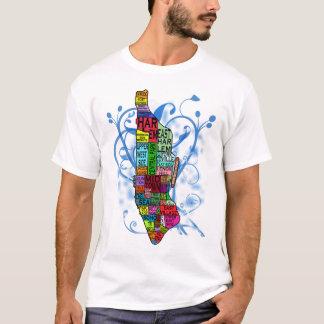 Mapa de Manhattan del codificado por color Playera