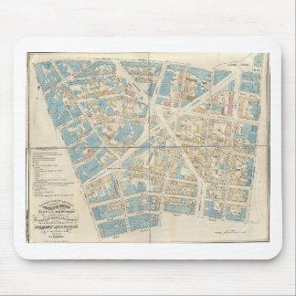 Mapa de Manhattan Tapete De Ratón