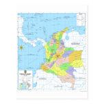Mapa de Mapa de Colombia de Colombia Postal