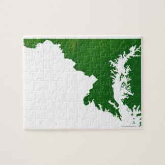 Mapa de Maryland 3 Puzzle