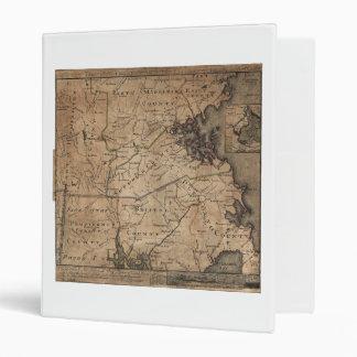 """Mapa de Massachusetts de los romanos de Bernard Carpeta 1"""""""