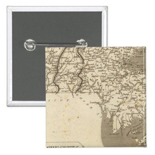 Mapa de Massachusetts por Arrowsmith Pins