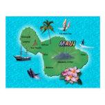 Mapa de Maui Postal