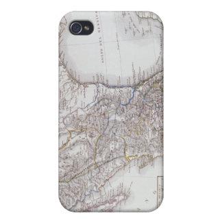 Mapa de México 2 iPhone 4/4S Carcasa