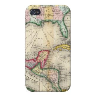 Mapa de México, America Central iPhone 4 Protector