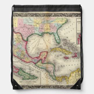 Mapa de México, America Central Mochila