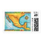 Mapa de México Franqueo