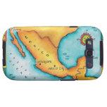 Mapa de México Galaxy S3 Carcasa