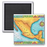 Mapa de México Imanes Para Frigoríficos