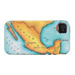 Mapa de México iPhone 4/4S Carcasa