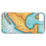 Mapa de México iPhone 5 Case-Mate Carcasa