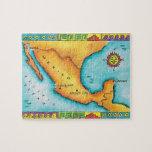 Mapa de México Rompecabezas