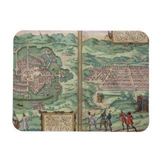 Mapa de México y de Cuzco, de 'Civitates Orbis Ter Iman