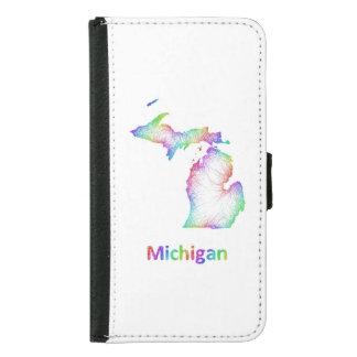 Mapa de Michigan del arco iris